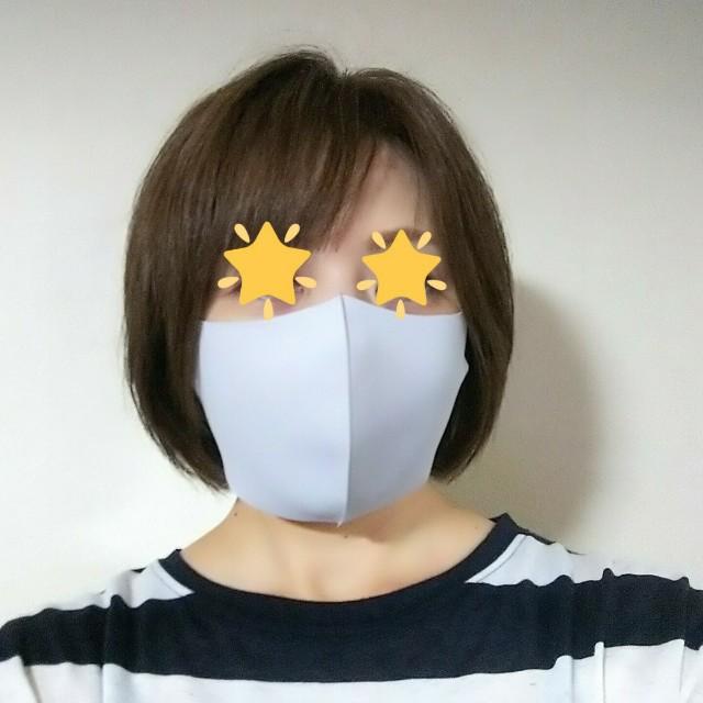 接触冷感マスクを購入してみたの図